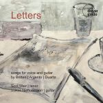 Letters: songs for voice and guitar
